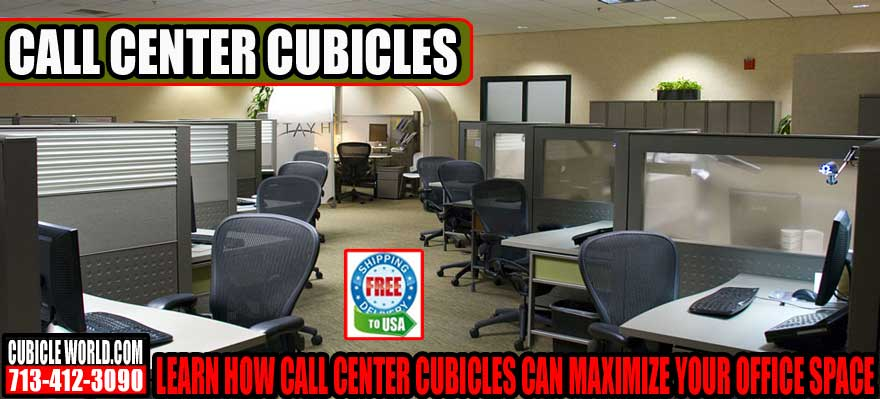 Maximize Your Office Space With Call Center Cubicles HM2227