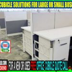 Custom Cubicle Solutions Including Installation, Delivery & Repair Services