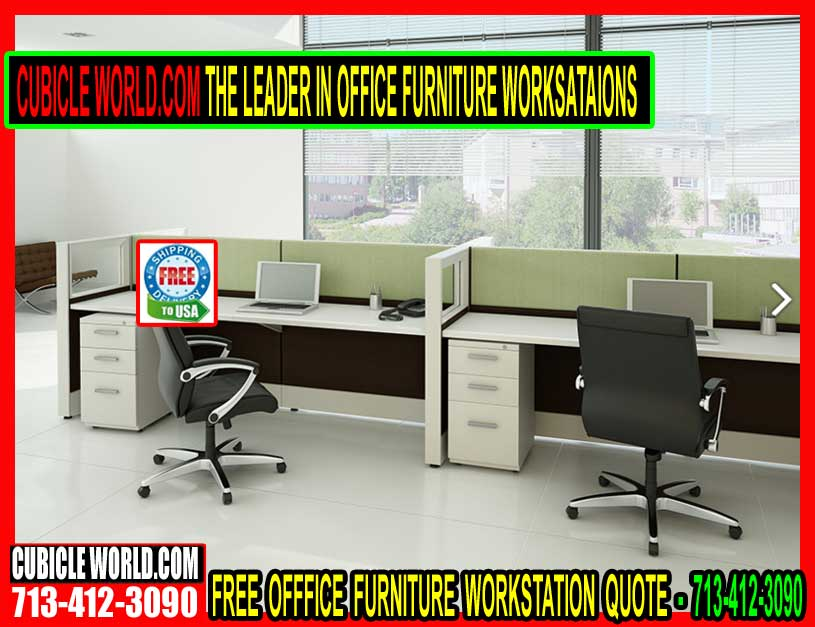 Office furniture workstations make collaborative workspaces Collaborative office interiors houston