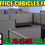 Used Office Cubicles For Sale In Bellaire Texas, Richmond, Texas, Dickinson, Texas