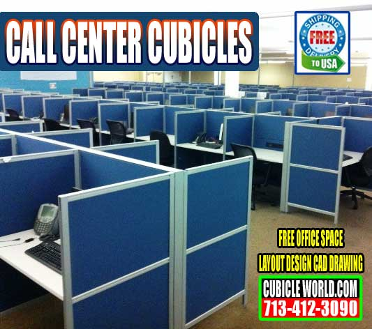 New Call Center Cubicles On Sale Now In Houston, Texas