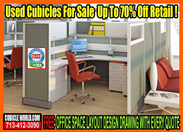 New, Secondhand & Refurbished Cubicles For Sale In West Houston, Texas. Used Cubicle Stores Near Me.