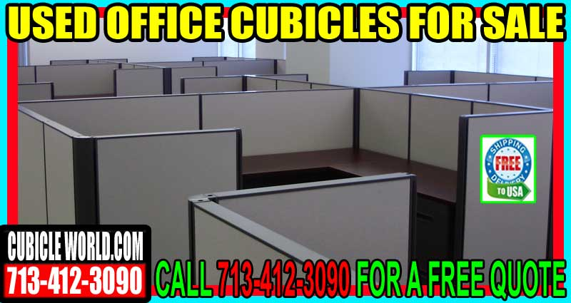 Used Office Cubicles For In Bellaaire Texas