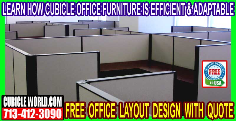 Used Cubicle Office Furniture For Sale In Houston, Texas