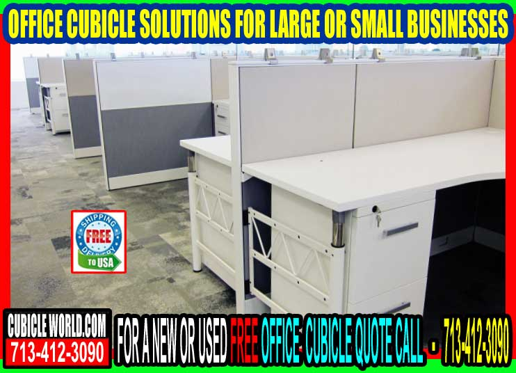 Office Cubicle Solutions In Conroe & The Woodlands Texas
