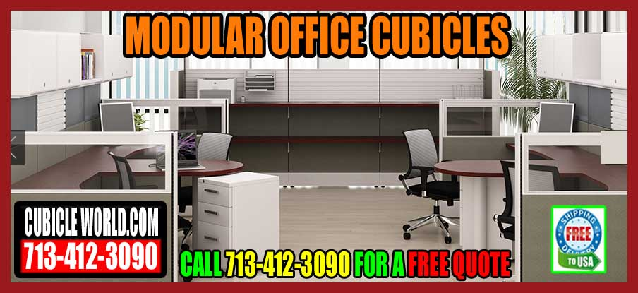 Modular Office Cubicles For Sale In Pasadena Texas.