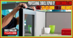 Professional Office Cubicle Workstation Repair In Houston, Galveston, Woodlands, Katy & Sugarland, Texas