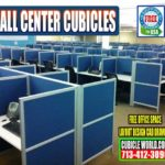 Used Call Center Cubicles For Sale In Katy Texas & Jersey Village, TX.