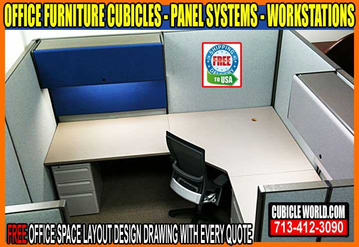 Office Furniture Cubicles On Sale Now In Baiytown, Texas