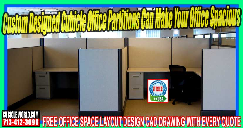 Used Cubicle Office Partitions On Sale Now In Katy, Texas