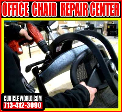 Cubicle World S Office Chair Repair Center In Houston Tx Free Quote