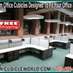 Affordable Custom Office Cubicles For Sale - FREE Office Space Design CAD Drawing With Every Quote