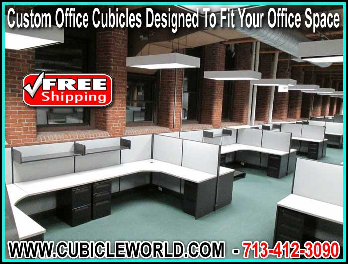 Affordable Custom Office Cubicles For Free E Design Cad Drawing With Every Quote
