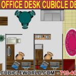 Office Desk Cubicle Layout Design Cad Drawing With Free Quote Direct From The Factory