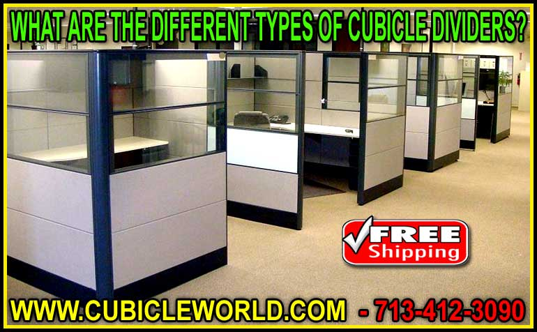What Are The Different Types Of Cubicle Dividers For Sale? Manufacturer Direct Prices