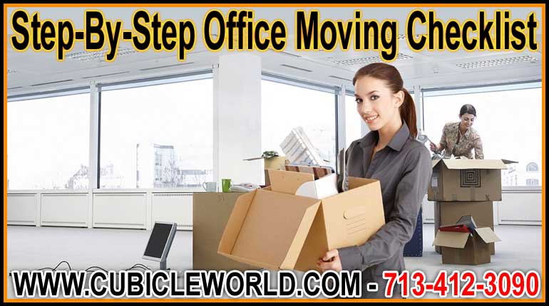 Office Moving Services For Beumont, Clear Lake, Katy, Galveston, Pasadena, The Woodlands, & Houston, Texas