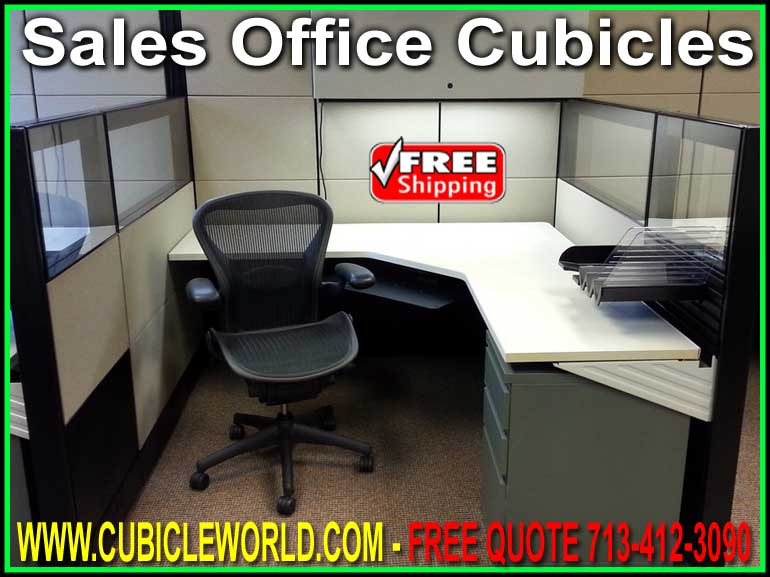 New, Used & Refurbished Sales Office Cubicles For Sale Direct From The Factory Guarantees Lowest Price!