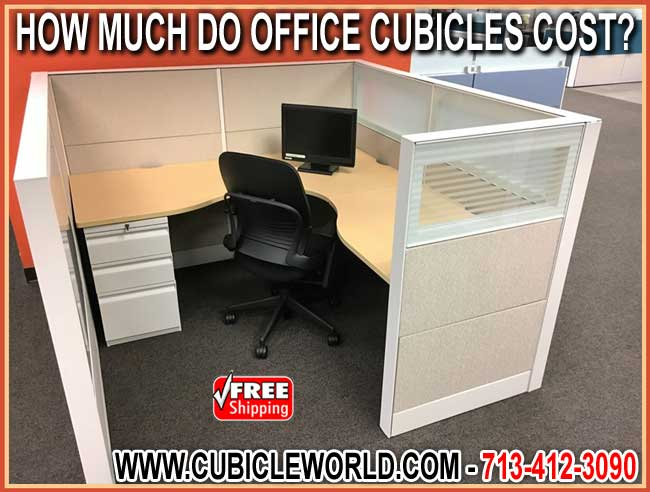 How Much Do Cubicles Cost? Get The Lowest Price Guaranteed When You Buy Direct From The Manufacturer - Fast FREE Shipping