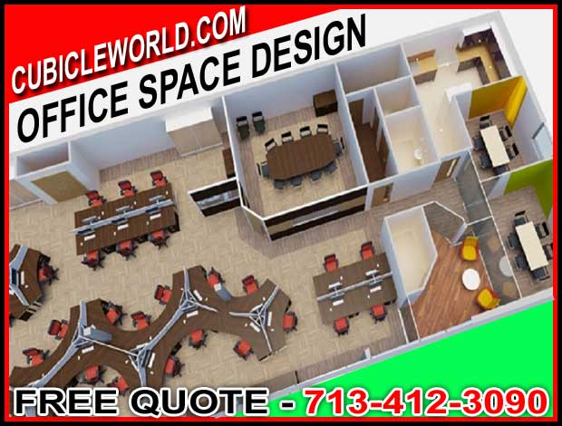FREE Office Space Design With CAD Drawing To Maximize Your Space