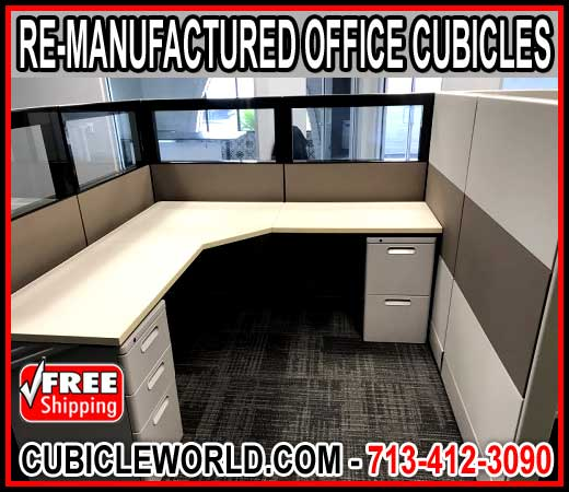 Re Manufactured Office Cubicle For Sale