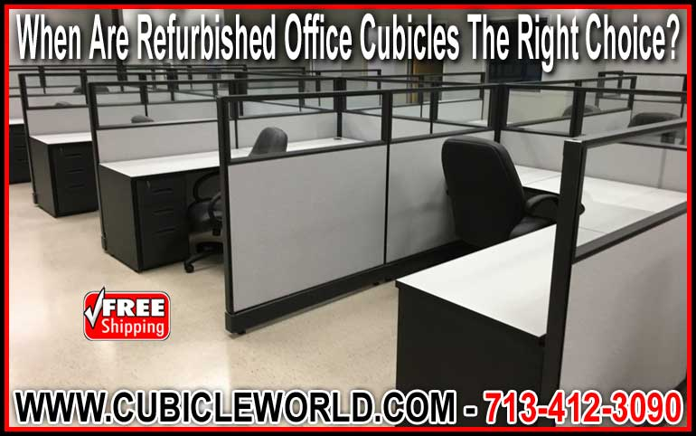 Refurbished Office Cubicle For Sale Factory Direct Save You Time & Money
