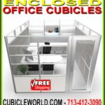 Discount Enclosed Office Cubicles For Sale Factory Direct Cheap Pricing & FREE Shipping