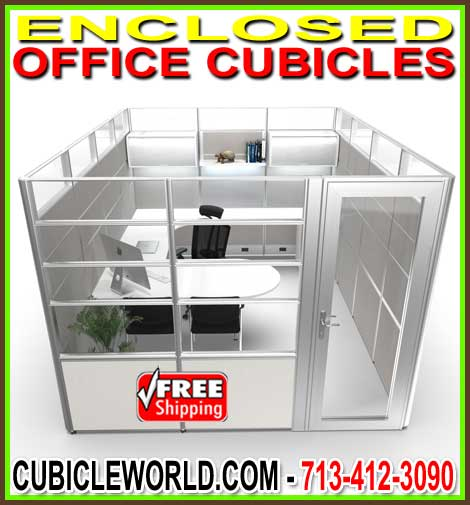 Wholesale Enclosed Office Cubicle Sale Direct From The Manufacturer Saves You Money Today! USA FREE Shipping