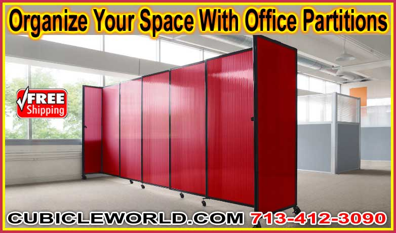 Office Partitions For Sale - FREE Quote 713-412-3090