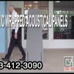 Acoustical Wall Panels Fabric SoundProof