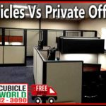 Whole Office Cubicle Manufactured vs Private Offices Call Today for Free Quote and Office Layout