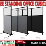 Discount Free Standing Office Cubicles For Sale Factory Direct Prices With FREE Shipping! Made In America