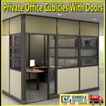 Private Office Cubicles With Door Sales